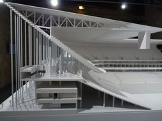 Theater Architecture, Stadium Architecture, Art And Architecture, Architecture Details, Civil Engineering Construction, Bordeaux, Archi Design, Arch Model, Building Structure