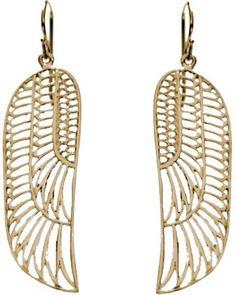 Zoe & Morgan Wing Earrings from Loulerie