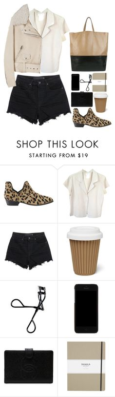 """""""Untitled #2868"""" by wtf-towear ❤ liked on Polyvore featuring Senso, agnès b., Alexander Wang, Acne Studios, Bobbi Brown Cosmetics, Dolce&Gabbana, Chanel and Shinola"""