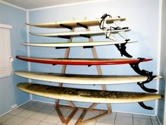 Epic Surf Racks tower surf rack w boards