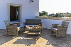 Le Fogge casa vacanze – Terrazza superiore salottino