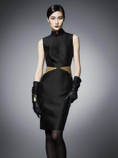 Silk sleeveless dress By Shanghai Tang