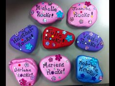 A gift for Administrative Professionals Day, for the court clerks in my office.  They do ROCK!