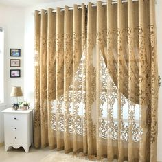 European style curtain