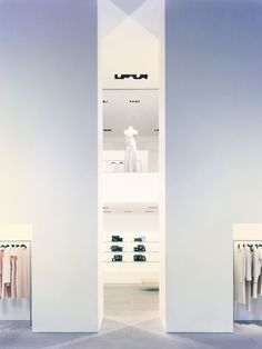 Calvin Klein Collections Store, New York designed by John Pawson
