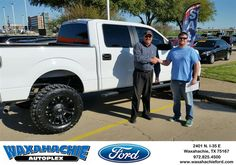 Happy Anniversary to Jesse on your #Ford #F-150 from J David Thornhill at Waxahachie Ford!  https://deliverymaxx.com/DealerReviews.aspx?DealerCode=E749  #Anniversary #WaxahachieFord