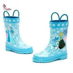 Disney Bottes en caoutchouc pour garçons pluie Bottes pluie Bottes Mignion bleu George planes