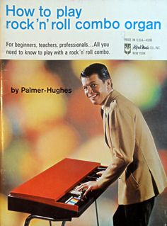 How to play ronck'n'roll combo organ (1967)