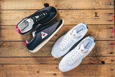 #LIBRARY新品上市 le coq sportif 當家經典的 Quartz鞋款, 除了有 Vintage 配色的款式,還有以全皮革鞋身營造極具質感的式樣, 此次更加入了 CORDURA® 輕量耐磨織料打造的鞋款, 讓經典的公雞鞋注入更獨特的個性風格!