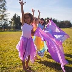 Find beautiful, silk fairy skirts at Sarah's Silks. Our fairy skirts are reversible with an elastic waistband and can be worn as skirts, tops or on your child's head. Order your fairy skirts from Sarah's Silks today. Natural Toys, Natural Baby, Fairy Skirt, Plan Toys, Montessori Toys, Costume Dress, Girl Gifts, Girly Girl, Baby Toys