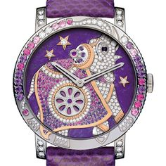 Crazy Jungle Hathi watch collection from the House of Boucheron.