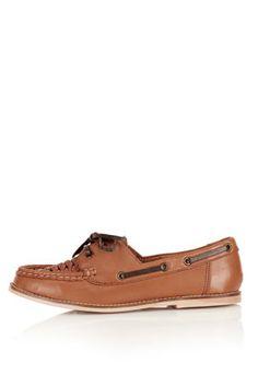 40de0e95ff20 KASSIDY Woven Boat Shoes Topshop Shoes