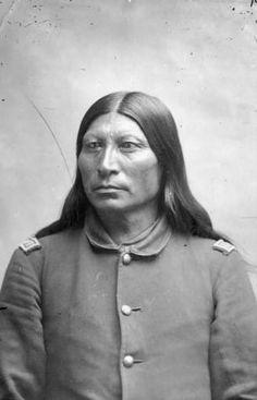 Sharp Nose, Арапахо. 1884-1885 гг.