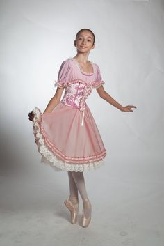 Very pretty dress for the role of Clara/Macha in the Nutcrcker Act i party…
