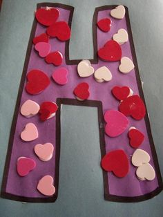 valentines day and letter H combo! loving it!