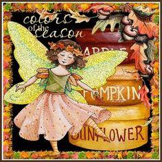 Colors of the Season: Apple, Pumpkin, Sunflower | Mary Engelbreit