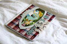 Kara in Wonderland art journal