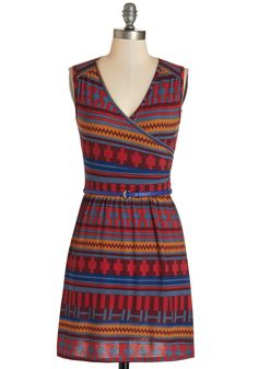 Full of Blithe Dress in Burgundy