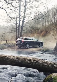 Crave the wild with the new V60 Cross Country.