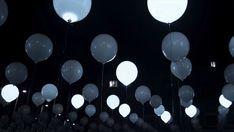Witte LED verlichting voor ballonnen Bruiloft door Featherology2