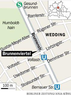 Berlin-Wedding: Das Brunnenviertel ist ein Quartier  voller Geschichte .....
