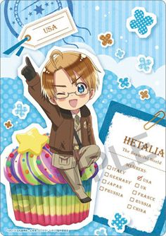 Hetalia ~~ Treats Series :: America