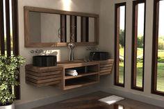 bagni in teak anche su misura www.giallosun.com