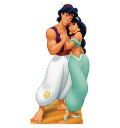 Aladdin and Jasmine Disneys Aladdin Advanced Graphics Life Size Cardboard Standup >>> Check out the image by visiting the link. Aladdin Princess, Princess Jasmine, Aladdin Et Jasmine, Disney Jasmine, Disney Magic, Disney Characters Pictures, Life Size Cardboard Cutouts, Aladdin Party, Asian Elephant