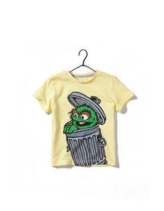 fa485f35 camiseta barrio sesamo Sesamo, Camisetas, Oscar El Gruñon, Niños Jugando,  Niños Lindos