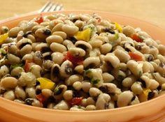 Salada de Feijão Fradinho - Veja mais em…