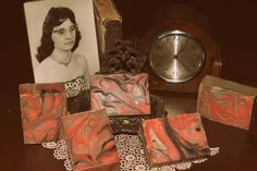 Natural soaps by Jessica  Amber Soap:  $5   This is another addition to my new line of soaps for the new year. This swirl design Amber scented soap contains body moisturizing butters and oils and the amber scent has notes of Vanilla, Patchouli, Sandalwood and Musk. Natural Soaps, Swirl Design, Amber, Vanilla, Notes, Nature, Report Cards, Naturaleza, Off Grid