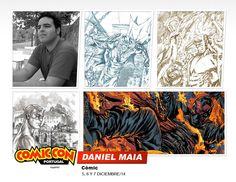 Daniel Maia estará en la #comicconportugal :D  #comic #ilustracion Portugal, Movie Posters, Movies, Fictional Characters, Art, Art Background, Film Poster, Films, Movie