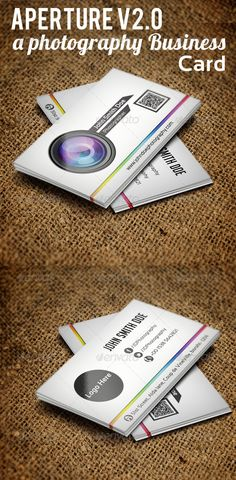 Aperture V2.0 - A Photography Business Card