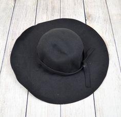 Floppy Hat Fedora Felt Panama Bowler Trilby Gangster Cap Summer Wide Brim Black #Unbranded #Floppy #FloppyPanamaSummerHatCasualBeachSunHat