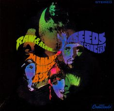 "The Seeds - ""Merlin's Music Box"" LP cover - 1968."