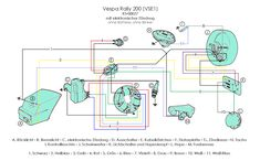 vespa wiring schematics vespa px wiring diagram vespa 150 super
