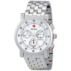 Michele Women's MWW01C000021 'Sport Sail' Chronograph Watch