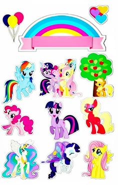 Horse Template, Lol Doll Cake, My Little Pony Twilight, Pinkie Pie, Lol Dolls, Cake Toppers, Unicorn, Disney Characters, Fictional Characters