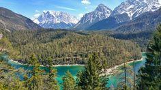 Traumhaft! Foto von meiner Tour heute.....(Tirol , Österreich) Blindsee mit Zugspitze im Hintergrund.