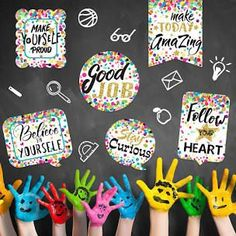 back to school ideas - Google Search Beginning Of The School Year, Back To School, Classroom Bulletin Boards, Tool Organization, Getting To Know You, Make It Yourself, Confetti, School Ideas, Creative