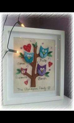Family tree stitching