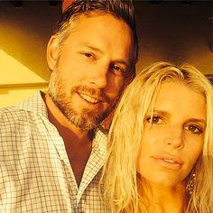 Eric Johnson and Jessica Simpson on Instagram