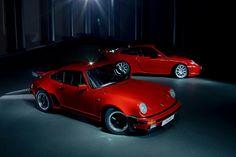1986 Porsche 911 3.3 turbo + 1999 Porsche 911 GT3