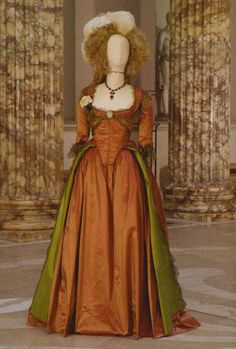 "Costume for ""Georgiana, Duchess of Devonshire"" (as worn by Keira Knightley) 'The Duchess' 2008. Costume designed by Michael O'Connor."