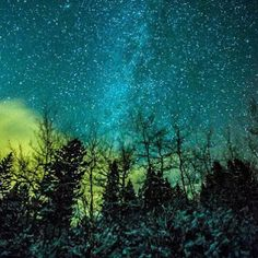 Milky Way, Cold Night in Bozeman, Montana. One of the most beautiful places I have ever been! I Love Montana :) Beautiful World, Beautiful Places, Beautiful Pictures, La Martre, The Places Youll Go, Places To Go, Foto Real, Big Sky Country, Cold Night