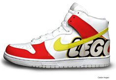Lego Nike Dunks by Houggiebear on DeviantArt