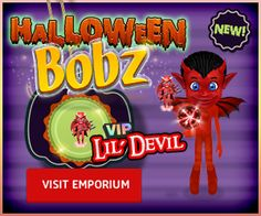 Check out the Bobz Lil' Devil - perfect for #SmallWorlds #Halloween! 25% #discount for the first 24 hours. So good it's #scary!