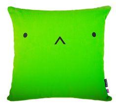 Meet Kasumii part of the Yo Kawaii Cushion Friends gang. Kasumii enjoys making origami and eating sushi- yummy! Green Cushions, Green Throw Pillows, Cute Pillows, Toss Pillows, Kitsch Decor, Quirky Decor, Cute Bento Boxes, Kawaii Bedroom, Red Home Decor