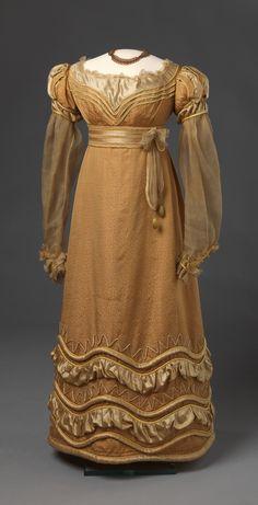 Dress, ca. 1825