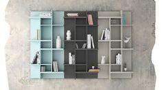 #furniture #livingroom #living #room #deco #decoration  www.exojo.com  Catalogo Cubika 2015 #bookcase #estanteria